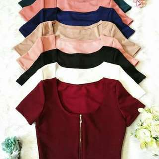 Zipper Croptop