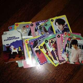 Kpop star poker card