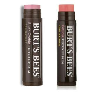 BN Burt's Bees Tinted Lip Balm - 2 Shades Available