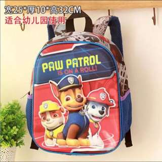 PO Paw Patrol bag brand new