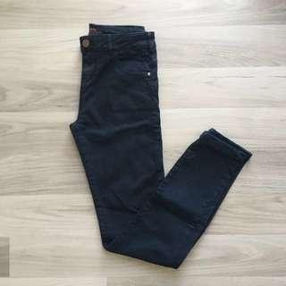Bershka Navy Blue Jeans