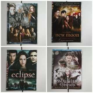 DVD FILM FANTASY, ADVENTURE, TWILIGHT, NARNIA, THE MUMMY, JUMANJI