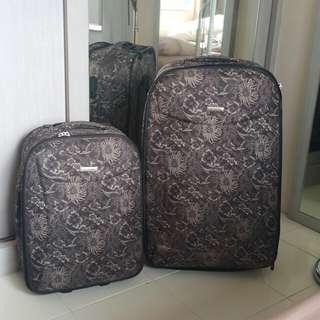 """Cellini suitcase batik 25"""" dan 22"""" #CNY2018"""