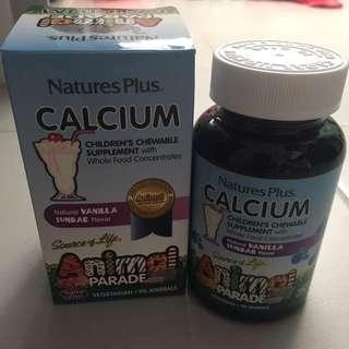 Natures Plus Kids/Children Calcium