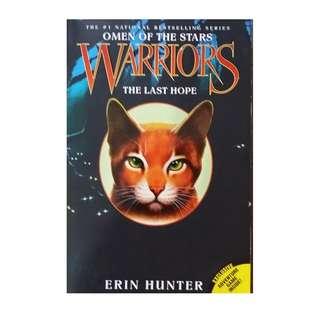 bf - WARRIORS - The Last Hope - ERIN HUNTER - omen of the stars - YA