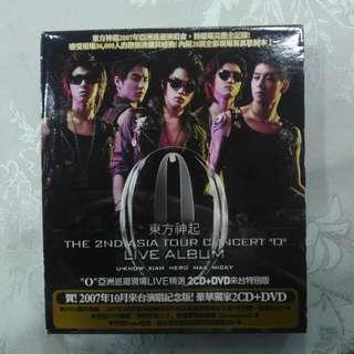 (破底價$49+包平郵) 東方神起 台版共2cd及dvd