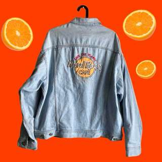 Hardrock denim jacket (RARE!!)