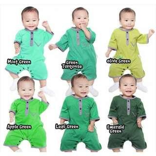 PO - Baby Romper Kurung / Baju Melayu