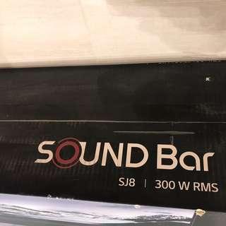 LG HD SJ8 soundbar
