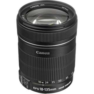 Canon 18-135mm lens ( For rent )
