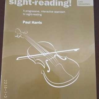 Violin- Sight Reading