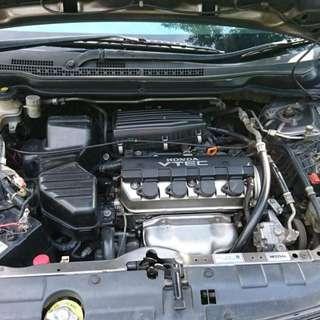 mobil Honda Stream 2007