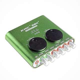 Karaoke Soundcard (External) with remote control