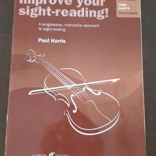 Violin, Sight Reading