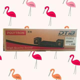 DVD PORTABLE + SPEAKER POLYTRON DTIB-2367