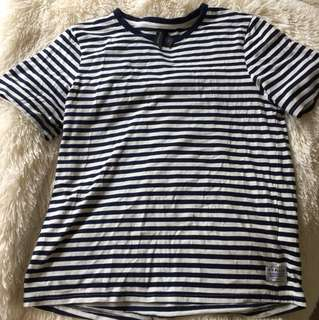 Huffer striped T shirt