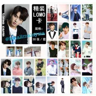 [Ready Stock!!] BTS Jungkook Lomo Card