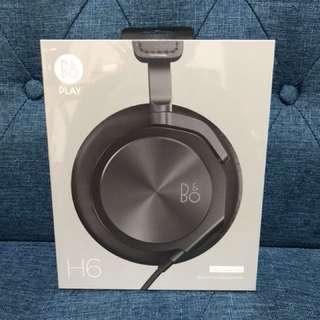 B&O H6 有線headphone 黑色