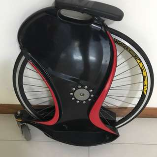 Single wheel bike