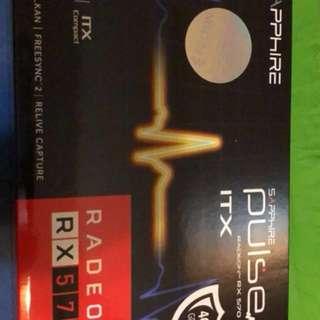 全新有單 GPU Sapphire Pulse ITX 4GB RX570