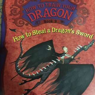 How to train your dragon book 9 - how to steal a dragon's sword