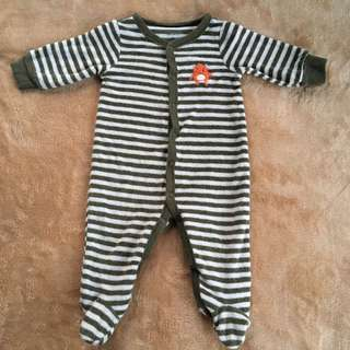 Carter's Stripes Overall