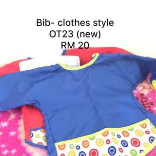 Bib like clothe style