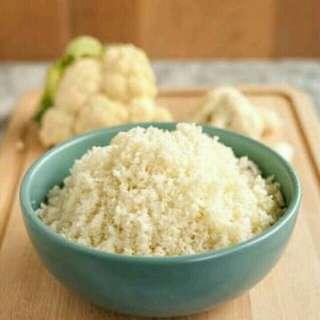 Keto Cauliflower Rice (w/garlic)