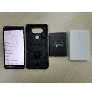 LG V20 黑色 64gb 雙咭+sd card 原廠配件 韓國ringke手機殼 battery kit 電池套裝