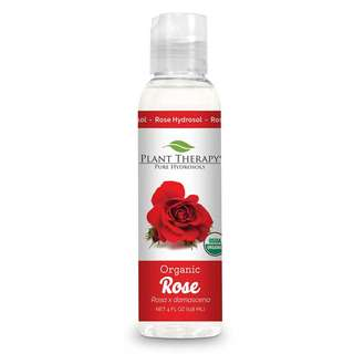 Plant Therapy Organic Hydrosol - Rose (Rosa Damascena), 4oz