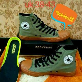 Converse All Star CT High Canvas army