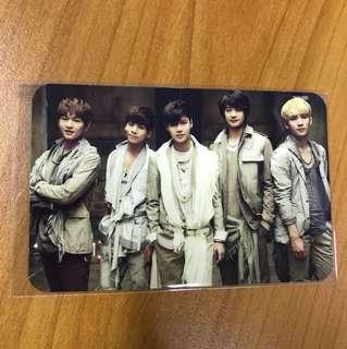 [LAST] SHINee Fire Group Photocard