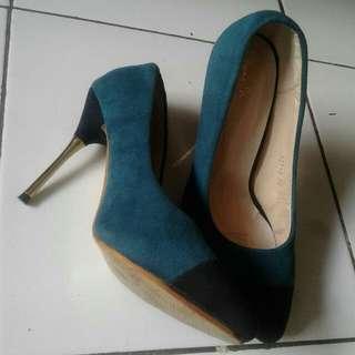 high heels | Green
