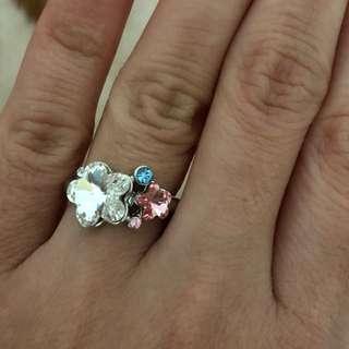 🌸花花晶石戒指