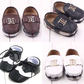 Brand new toddler boys and baby boys shoes