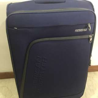 """American Tourister 24"""" 4-wheel Soft case Luggage"""