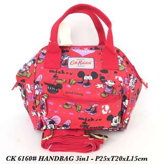 Tas import Wanita Fashion Handbag 3in 1 6160 - 12