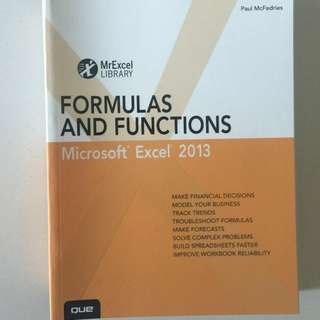 Microsoft Excel 2013 - Formulas and Functions (QUE)