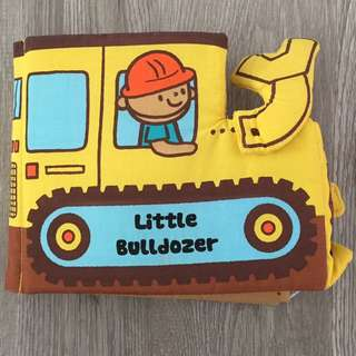 Little Bulldozer Soft Play Book