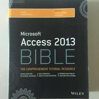 Microsoft Access 2013 Bible (Wiley)