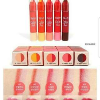 Etude house balm and color tint