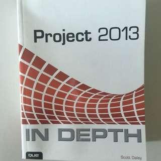 Microsoft Project 2013 - in Depth