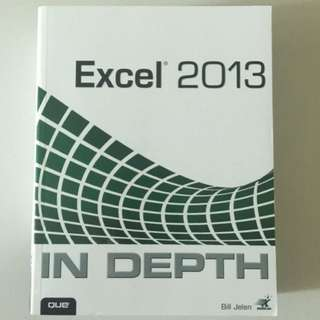 Microsoft Excel - In Depth (QUE)