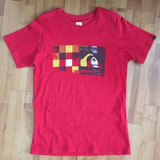 Quicksilver Red Tee