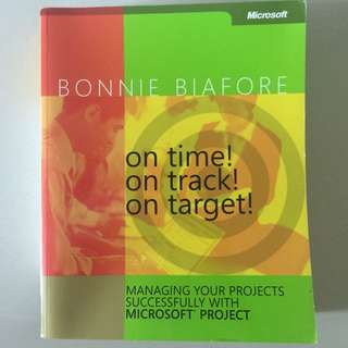 Managing your time successfully via Microsoft Project