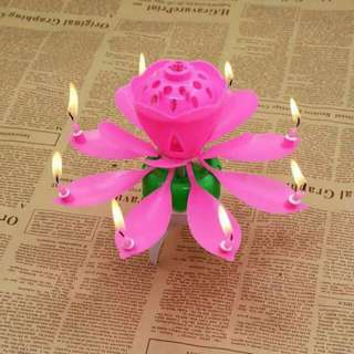 Melody flower candle