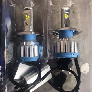 Headlamp led H4 600k