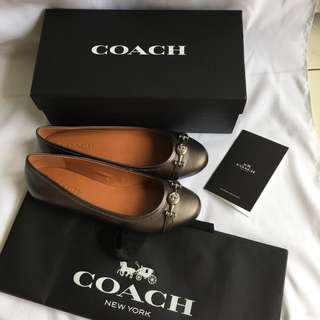 New coach ballerina original size 9