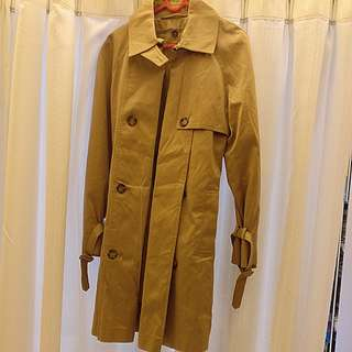 London Fog Women Small Trench Coat with detachable liner 乾濕褸