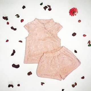 Baby girl Cheongsum set